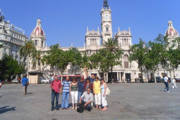 център на град Валенсия
